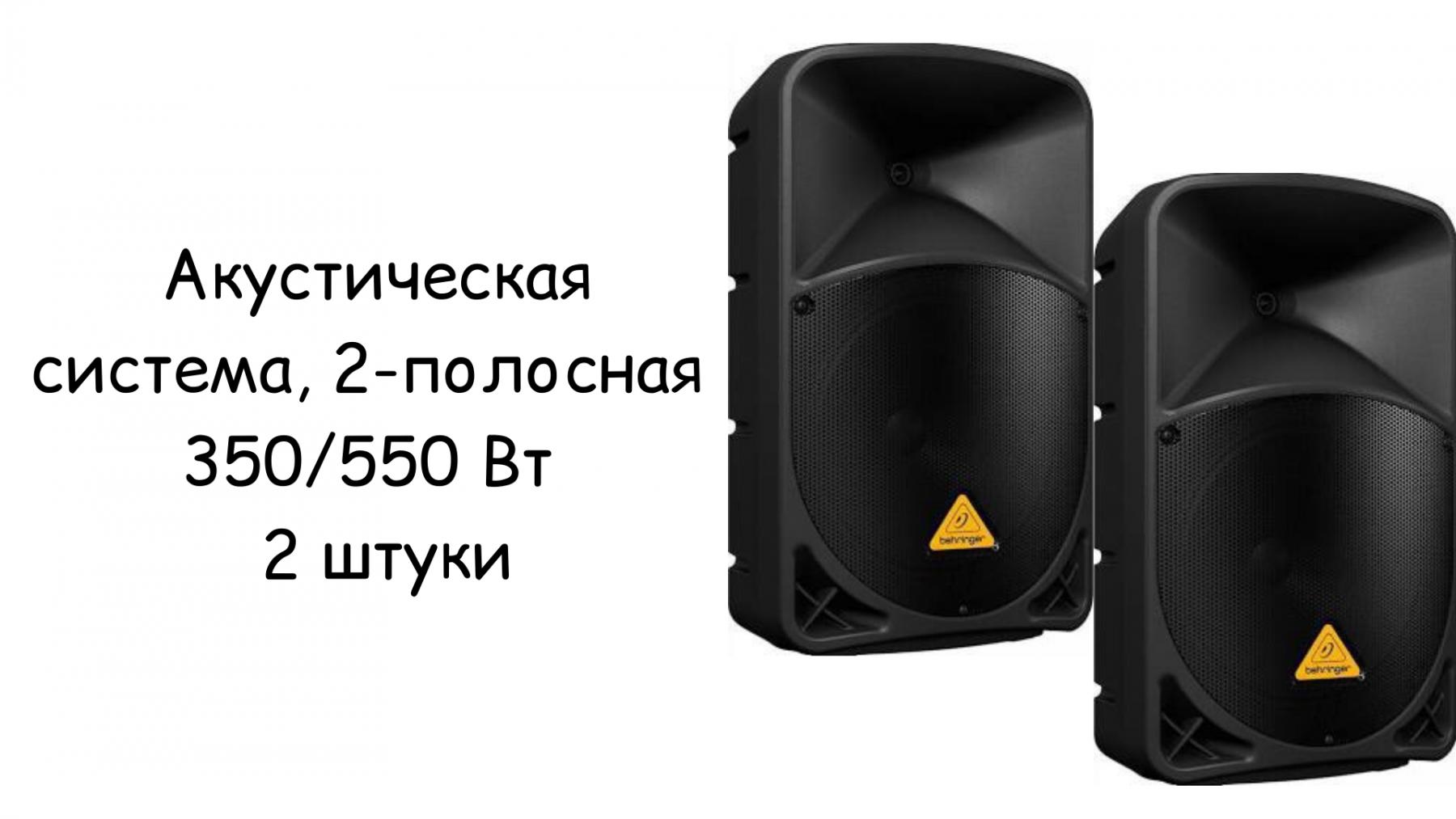 Радиосистема (2 микрофона)